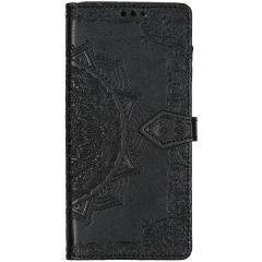 Custodia Portafoglio Mandala Samsung Galaxy A71 - Nero