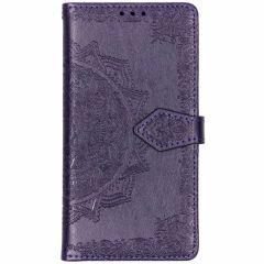 Custodia Portafoglio Mandala Samsung Galaxy S10e - Viola
