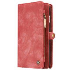 CaseMe Portafoglio 2 in 1 in Pelle de Luxe iPhone 8 Plus / 7 Plus - Rosso