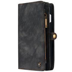 CaseMe Portafoglio 2 in 1 in Pelle de Luxe iPhone 8 Plus / 7 Plus - Nero