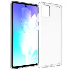 Accezz Cover Clear Samsung Galaxy Note 10 Lite - Trasparente