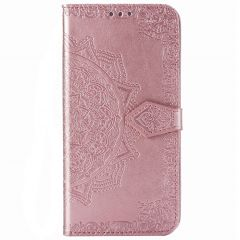 Custodia Portafoglio Mandala Samsung Galaxy Note 20 - Rosa