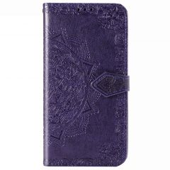 Custodia Portafoglio Mandala Samsung Galaxy Note 20 - Viola