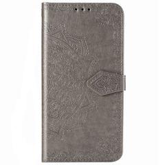 Custodia Portafoglio Mandala Samsung Galaxy Note 20 - Grigio