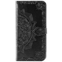 Custodia Portafoglio Mandala Samsung Galaxy Note 20 - Nero
