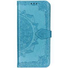 Custodia Portafoglio Mandala Huawei P30 Lite - Blu