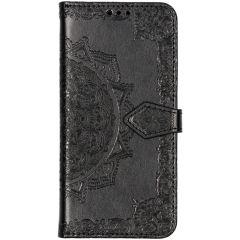 Custodia Portafoglio Mandala Huawei P30 Lite - Nero