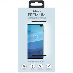 Selencia Pellicola Protettiva Premium in Vetro Temperato Samsung Galaxy S10 Plus