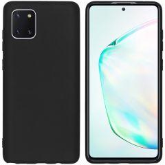 iMoshion Cover Color Samsung Galaxy Note 10 Lite - Nero