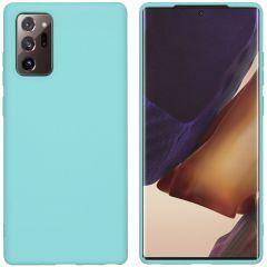 iMoshion Cover Color Samsung Galaxy Note 20 - Verde menta