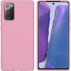 iMoshion Cover Color Samsung Galaxy Note 20 - Rosa