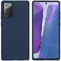 iMoshion Cover Color Samsung Galaxy Note 20 - Blu scuro