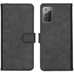 iMoshion Custodia Portafoglio de Luxe Samsung Galaxy Note 20 - Nero