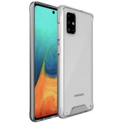 Accezz Impact Cover Samsung Galaxy A71 - Trasparente