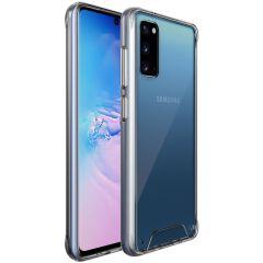 Accezz Impact Cover Samsung Galaxy S20 - Trasparente