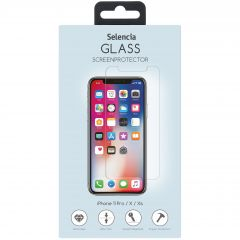 Selencia Pellicola Protettiva in Vetro Temperato iPhone 11 Pro / Xs / X