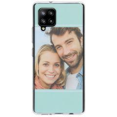 Cover Flessibile Personalizzate Samsung Galaxy A42 - Trasparente