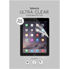 Selencia Pellicola Protettiva Ultra Trasparente Duo Pack iPad 2 / 3 / 4
