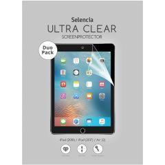 Selencia Pellicola Protettiva Ultra Trasparente Duo Pack iPad (2018) / iPad (2017) / Air (2)