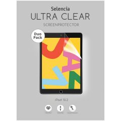Selencia Pellicola Protettiva Duo Pack iPad 10.2 (2019 / 2020 / 2021)