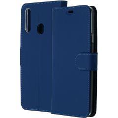 Accezz Custodia Portafoglio Flessibile Samsung Galaxy A20s - Blu scuro
