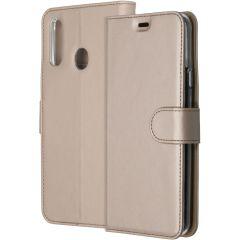 Accezz Custodia Portafoglio Flessibile Samsung Galaxy A20s - Oro