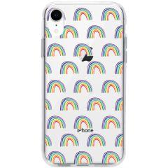 Cover Design iPhone Xr - Rainbow