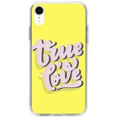 Cover Design iPhone Xr - True love