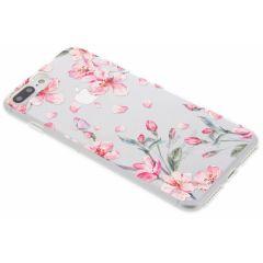 Cover Design iPhone 8 Plus / 7 Plus - Blossom Watercolor Pink