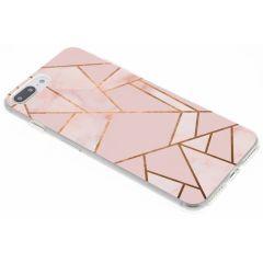 Cover Design iPhone 8 Plus / 7 Plus - Pink Graphic