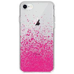 Cover Design iPhone SE (2020) / 8 / 7 - Splatter Pink