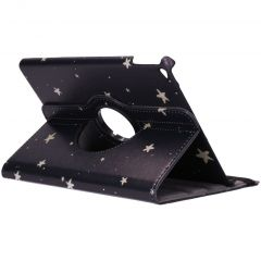 Custodia a Libro Design Girevole a 360° iPad Air 2 - Golden Stars