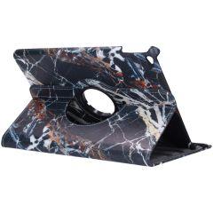 Custodia a Libro Design Girevole a 360° iPad Air 2 - Black Marble
