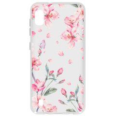 Cover Design Samsung Galaxy A10 - Blossom Watercolor Pink