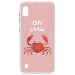 Cover Design Samsung Galaxy A10 - Oh Crab