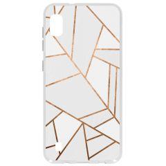 Cover Design Samsung Galaxy A10 - White Graphic