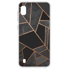 Cover Design Samsung Galaxy A10 - Black Graphic