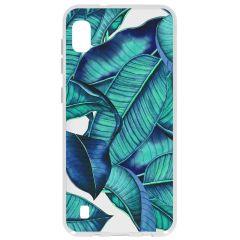 Cover Design Samsung Galaxy A10 - Blue Botanic