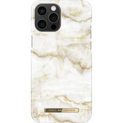 iDeal of Sweden Fashion Cover iPhone 12 Pro Max - Golden Pearl Marble