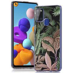 iMoshion Cover Design Samsung Galaxy A21s - Dark Jungle