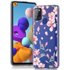 iMoshion Cover Design Samsung Galaxy A21s - Blossom Watercolor