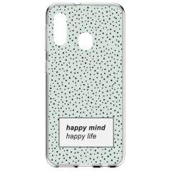 Cover Design Samsung Galaxy A20e - Happy Mind
