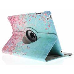 Custodia a Libro Design Girevole a 360° iPad 2 / 3 / 4 - Pink Blossom