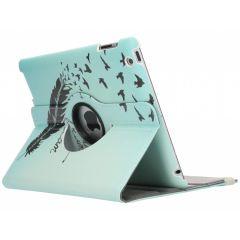 Custodia a Libro Design Girevole a 360° iPad 2 / 3 / 4 - Dare To Dream