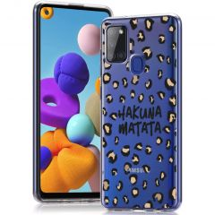 iMoshion Cover Design Samsung Galaxy A21s - Hakuna Matata