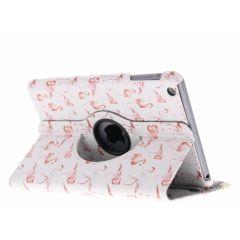 Custodia a Libro Design Girevole a 360° iPad Mini / 2 / 3 - Flamingo