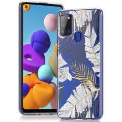 iMoshion Cover Design Samsung Galaxy A21s - Glamour Botanic