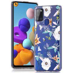 iMoshion Cover Design Samsung Galaxy A21s - English Garden