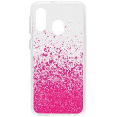 Cover Design Samsung Galaxy A40 - Splatter Pink