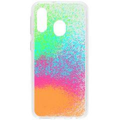 Cover Design Samsung Galaxy A40 - Splatter Color